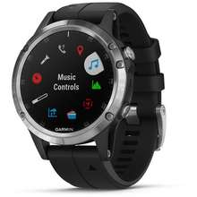 Garmin Fenix 5 Plus Stainless Steel Black Band Price Specs In