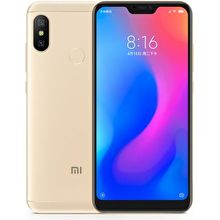 e9f5d9b5f9a Xiaomi Redmi 6 Pro 64GB Gold Price in Singapore   Specifications for ...