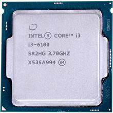2 Core 3.70 Ghz Processor Socket H4 Lga-1151 Intel Core I3 I3-6100 Dual-core
