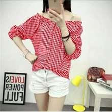 kedai_baju Kedai baju blouse wanita murah berkualitas / blouse murah / blouse sabrina Lina Kotak -