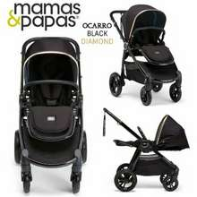Mamas&Papas Stroller Mamas Papas Ocarro Jewel Series Kereta Dorong Bayi (Black Diamond)