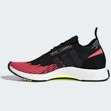 adidas แท้ 100% จาก Shop Adidas Nmd Racer Primeknit สี Core Black / Core Black / Shock Red ขนาด Uk 8 / Us 8.5 / Eu 42 / 26.5 Cm