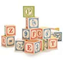 abc Uncle Goose Classic Abc Blocks - Made In The Usa