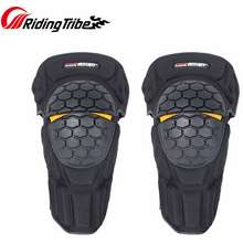 Riding Tribe /Pro-Biker Motorcycle Knee Guards Moto Kneepads Motocross Off-Road Racing Shin Protector Outdoor Riding Gear Hx-P23