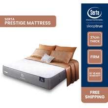 Serta Sleep True Prestige Mattress (11 Inch), 3-Zone Pocket Spring (King, Queen, Super Single, Single)