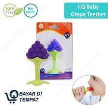 IQ Baby Grape Teether Gigitan Bayi Moif Anggur