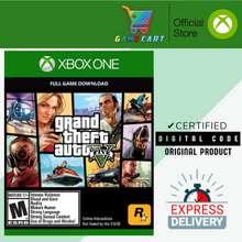 RockStar Games Grand Theft Auto V GTA V - [ Xbox One Digital Code ]