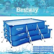 Bestway Kolam Air Kolam Renang Jimat Pos Dari Malaysia 3 Sizes Steel Pro Frame Pool Set Adult Family Kids Large