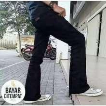 Cheap Monday Celana Jeans Cutbray Pria Celana Cutbray Pri Kekinian Higtquality