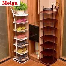 IKEA 💖Spot 💖Simple And Modern Living Room Multi-Layer Wrought Iron Shoe Rack Economical Simple Home Living Room Space Saving Metal Storage Shoe Cabinet Shoe Cabinet Ikea Shoe Rack Diy Shoe Rack Shoe Cabinet Storage