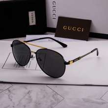 Gucci 'S New Metallic, Stylish Men'S Polarized Sunglasses For 2020 Protect Against Uv Rays While Driving And Fishing