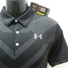 Under Armour Ua Heatgear Golf Polo Shirt - V Design (Black)