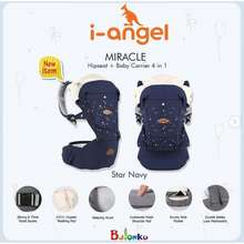 I-Angel Miracle Hipseat + Baby Carrier 4 In 1