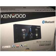 "KENWOOD "" DMX120BT Digital Multimedia Receiver with 6.8"""" WVGA Display"""