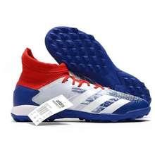 adidas Giày Bóng Đá Predator 20.3 Tf (trắng xanh)