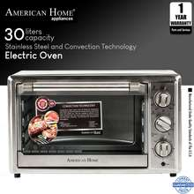 American Home 30L Stainless Steel Electric Oven With Convection Function Aeo-302Sx