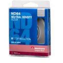 Manfrotto ฟิลเตอร์ Circular ND64 lens filter with 6 stop of light loss 82 mm. ฟิลเตอร์เลนส์ ฟิลเตอร์ลดแสง