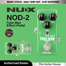 Nux Nod-2 Tube Man Mkii Overdrive Pedal / Effect Pedal (Nod2) (Nod 2)