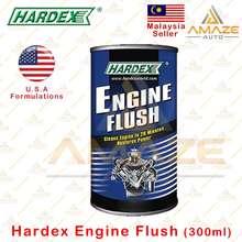Hardex Engine Flush / Pencuci Enjin (300Ml) - Remove Sludge And Deposit From Engine In 20 Minutes / Bersih Dalaman Enjin