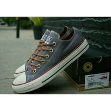 All Star Sepatu Sneakers premium  ABU ABU  Pria + box 7f37b666aa