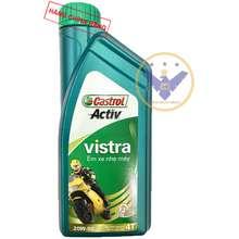 Castrol Dầu nhớt xe máy Activ Vistra 20w50 0.8l - Dầu nhớt cho xe số
