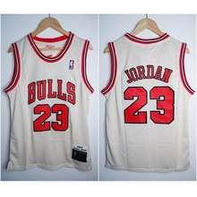a8fee88488d Mitchell   Ness jersey nba classic hwc bulls  23 jordan gold edition