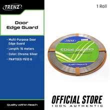 Trenz Door Edge Guard, Chrome Silver, Tdeg-Y612-6