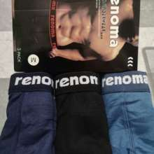 Renoma Boxer Readystock(3Pcs)/3Pcs Boxer Underwear Innerwear Men Clothingk