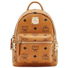 MCM Balo Stark Side Studs Bebe Boo Backpack in Visetos Size X_Mini
