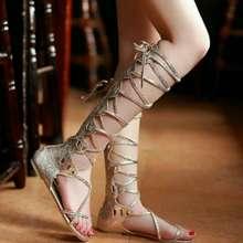 zhyzhyzhyzhyzhy Matellic Shimmer Gladiator Sandals