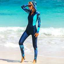 04eb1b7953 Sbart Women s Rash Guard Dive Skin Suit Breathable Quick Dry Wearable Nylon  Full Body Swimwear Beach