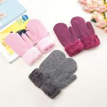 bc1a508f8 Hello Kitty Ladies Mittens Women's Knitting Gloves Keep Warm Fashion Gloves  New Winter MNKG