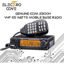 Icom !!! NEW !!! GENUINE 2300H WITH HM-133V KEYPAD MICROPHONE 65 WATTS OUTPUT POWER TOUGH MILITARY STANDARD MOBILE BASE RADIO 2300H 65W W/ HM-133V