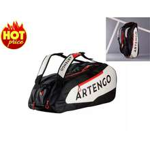 ARTENGO กระเป๋าเทนนิส กระเป๋าไม้เทนนิส กระเป๋ากีฬา ไม้เทนนิส ใส่ไม้ได้สูงสุด 9 อัน