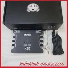 XOX Sound Card Âm Thanh K10 Bh 6 Tháng Đổi Mới