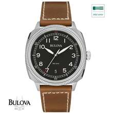 Bulova Military Ultra High Frequency 262Khz Sweep Seconds Watch