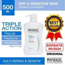 Physiogel Cleanser 500Ml Pembersih Badan Wajah Hipoalergenik Dws Bayi