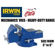Irwin Tools IRWIN RECORD MECHANICS' VICE - HEAVY-DUTY RANGE 3 to 8 VICES VISE VISES CLAMP CLAMPING HOLDING --------------------------------------------------------------------------------------- PRODIY MYDIY TOTAL REMAX VENUS ALLEFIX HERMAN EASTMAN BOSSMAN (3 inches)