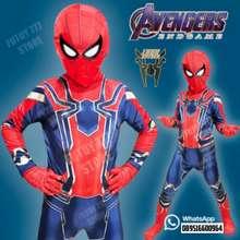 Spiderman Baju Anak Kostum Anak Kostum Anak Laki Laki 250 2 3 Tahun