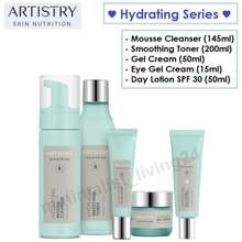 ARTISTRY ❗Ship In 1 Day❗ Skin Nutrition Hydrating Mousse Cleanser, Smoothing Toner, Gel Cream, Eye Gel Cream, Day Lotion