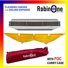 Robinson AIRCOND CLEANING CANVAS CEILING EXPOSED CEILING MOUNTED / CEILING CANVAS / AIRCOND CLEANING COVER / AIRCOND CANVAS CLEANING