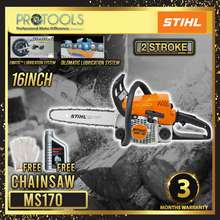 Stihl Chainsaw MS170 (Guaranteed Original) 16INCH BLADE - VALUE COMBO SET