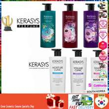 Kerasys []600Ml 750Ml💝Korea Hair Shampoo💝Perfume Moisture Damage Volume Clinic Shampoo Korea Cosmetics