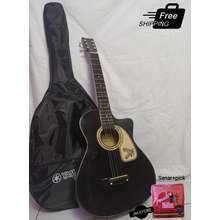 Gitar Master Akustik Murah Paket Hitam