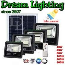 Dream Lighting / 100W 60W 25W 10W Solar Light Flood Lamp Spot Light Led Outdoor Lighting Garden Lampu Solar Lampu Luar