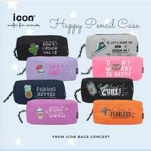 Icon School Day Series Fresh Color Multi Pockets Pencil Case
