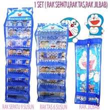 "Rak Gantung ""Top Quality Paket Lengkap Rak Sepatu, Rak Tas, Rak Jilbab /"
