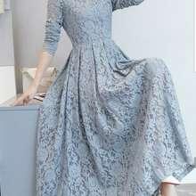 ADA Gfr Baju Dress Maxi Cassie 4 Wrn Abu Abu