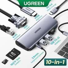 UGREEN Usb-C Converter Adapter Multi Usb 3.0 Hdmi Adapter Dock For Macbook Pro Accessories Usb-C Type C 3.1 Splitter