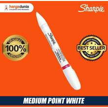 d12ea33287289 Sharpie white medium spidol marker oil-based pemutih sepatu sneakers
